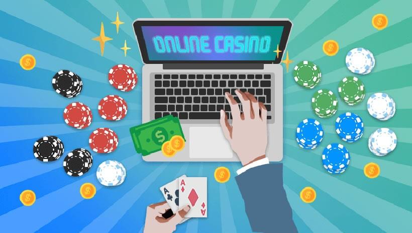 Online casino, wat is het verschil met een echt casino